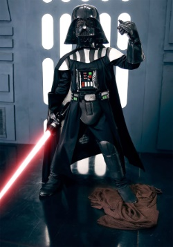 Child Deluxe Darth Vader Costume & Deluxe Wicket / Ewok Costume for Toddlers