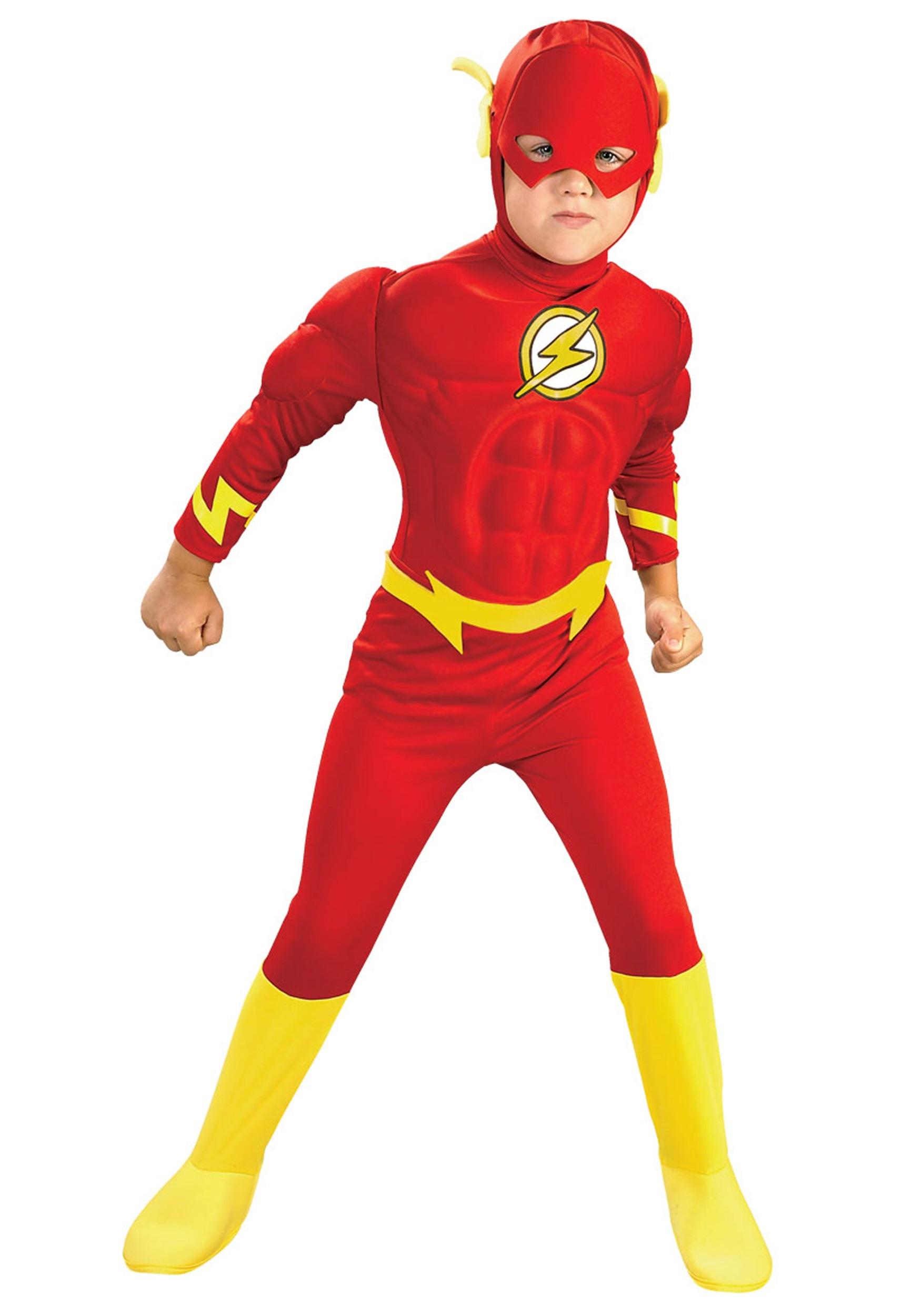 Deluxe Kids Flash Costume RU882308