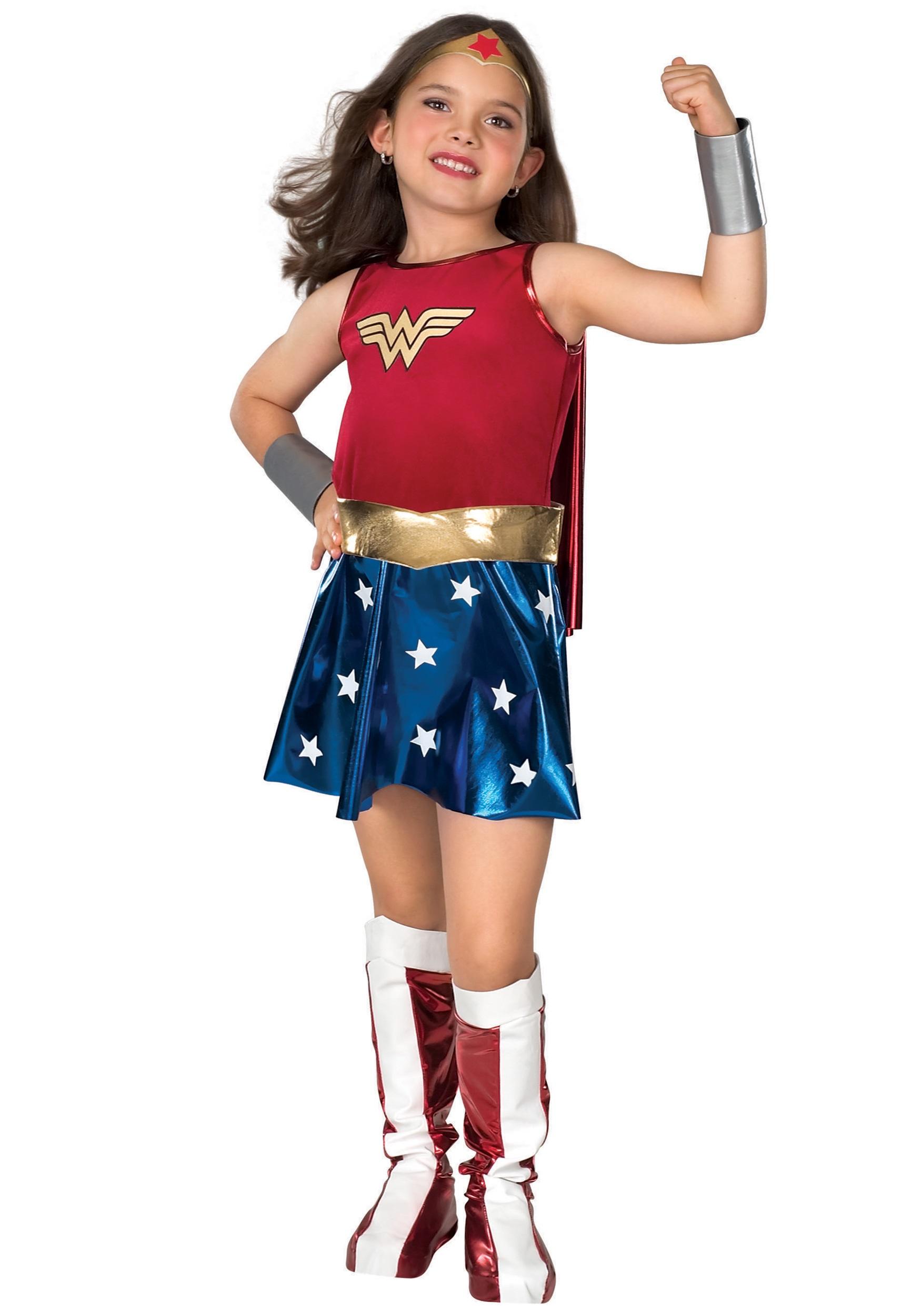girls wonder woman costume rh fun com Wonder Woman Costume for Women Professional Wonder Woman Costume