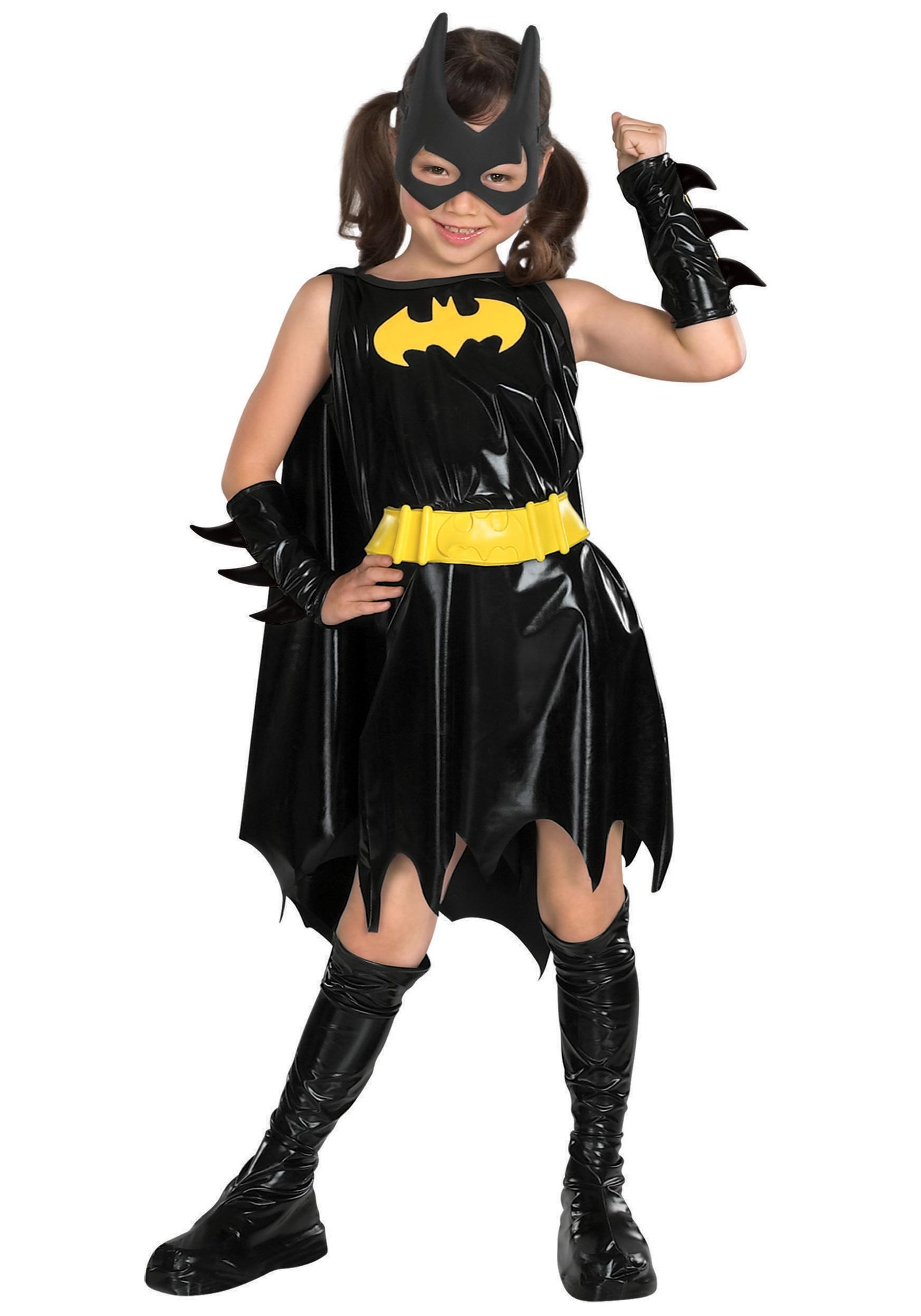 Batgirl Purple Kid Cape Glitter Bat Symbol Children Costume Cape