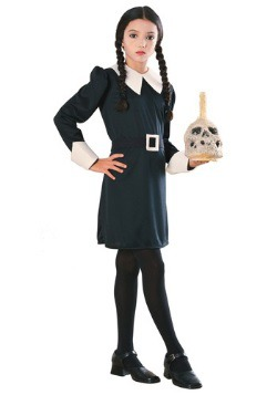 Girls Wednesday Addams Costume