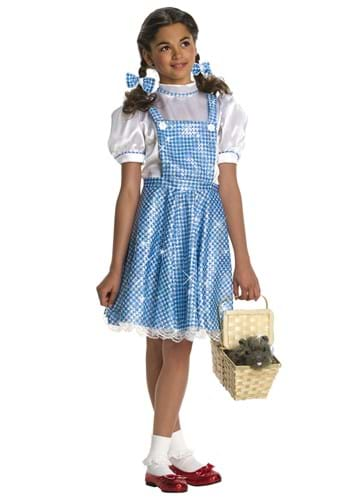 Sequin Dorothy Girls Costume1