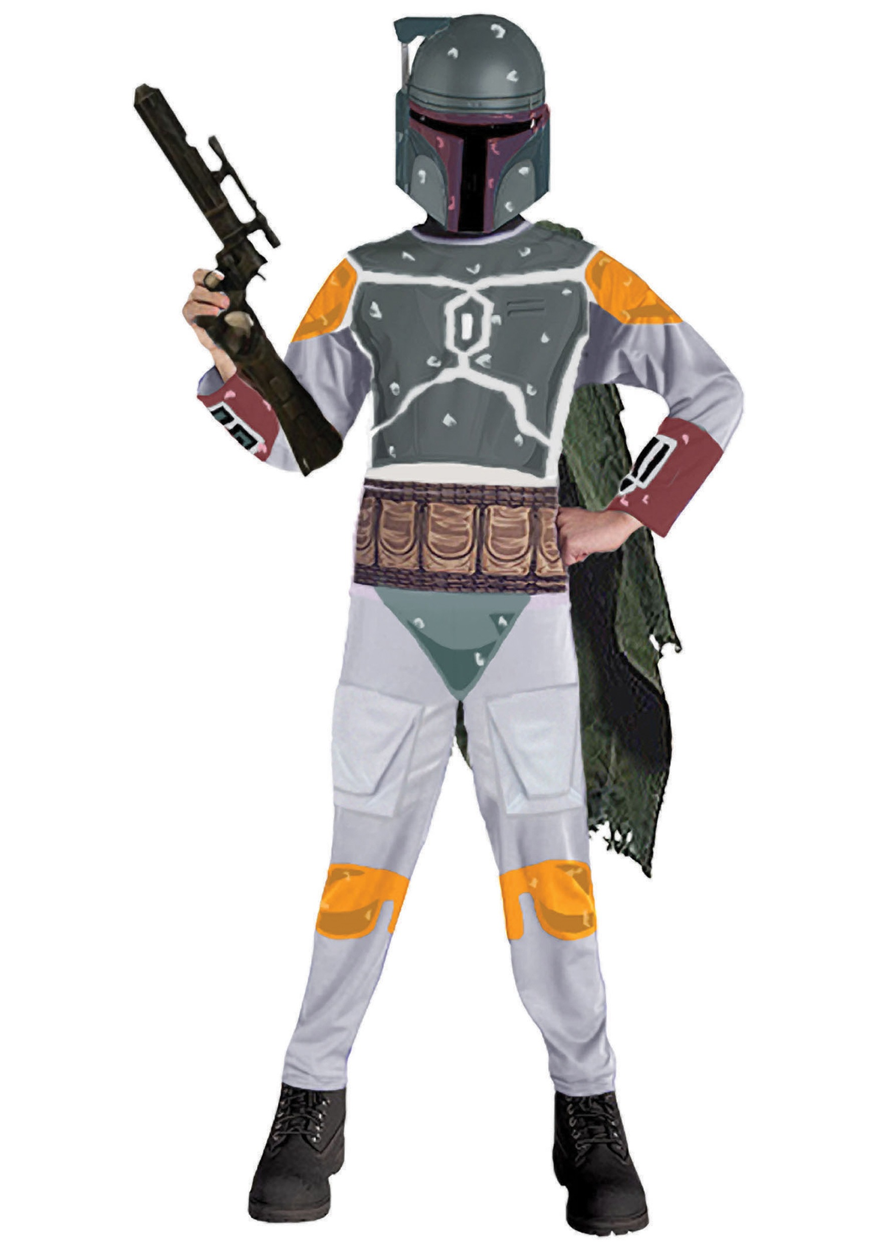 Kids Star Wars Boba Fett Costume RU883036