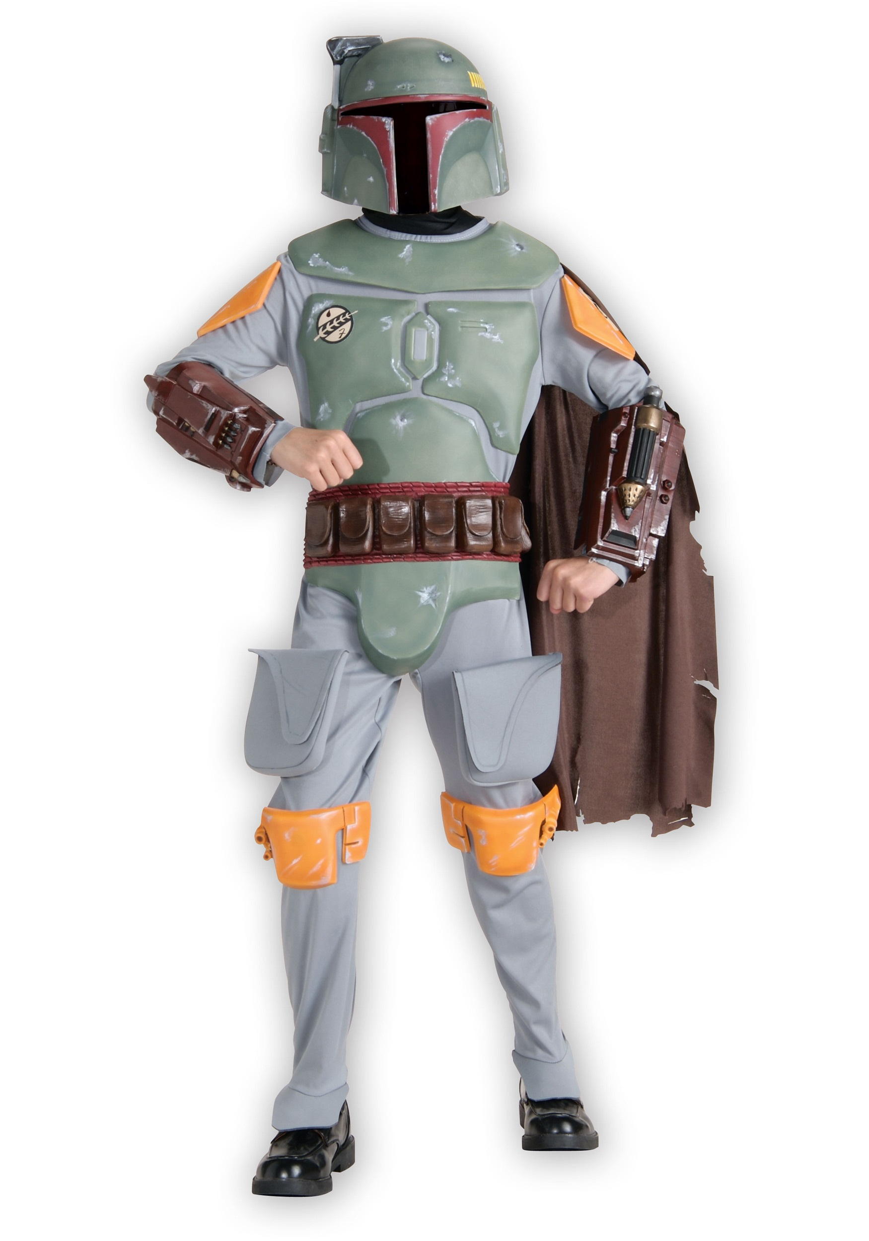 Star Wars Boba Fett Deluxe Boys Costume  sc 1 st  Fun.com & Star Wars Boba Fett Deluxe Costume for Boys