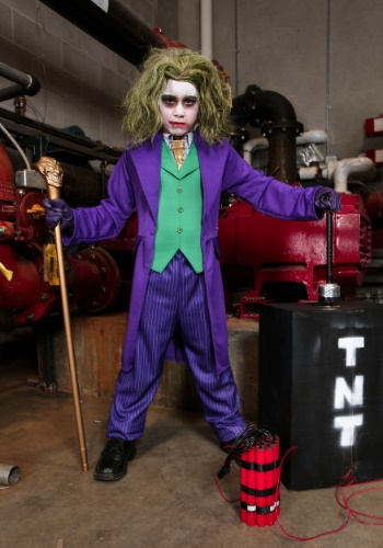 Deluxe Joker Boys Costume