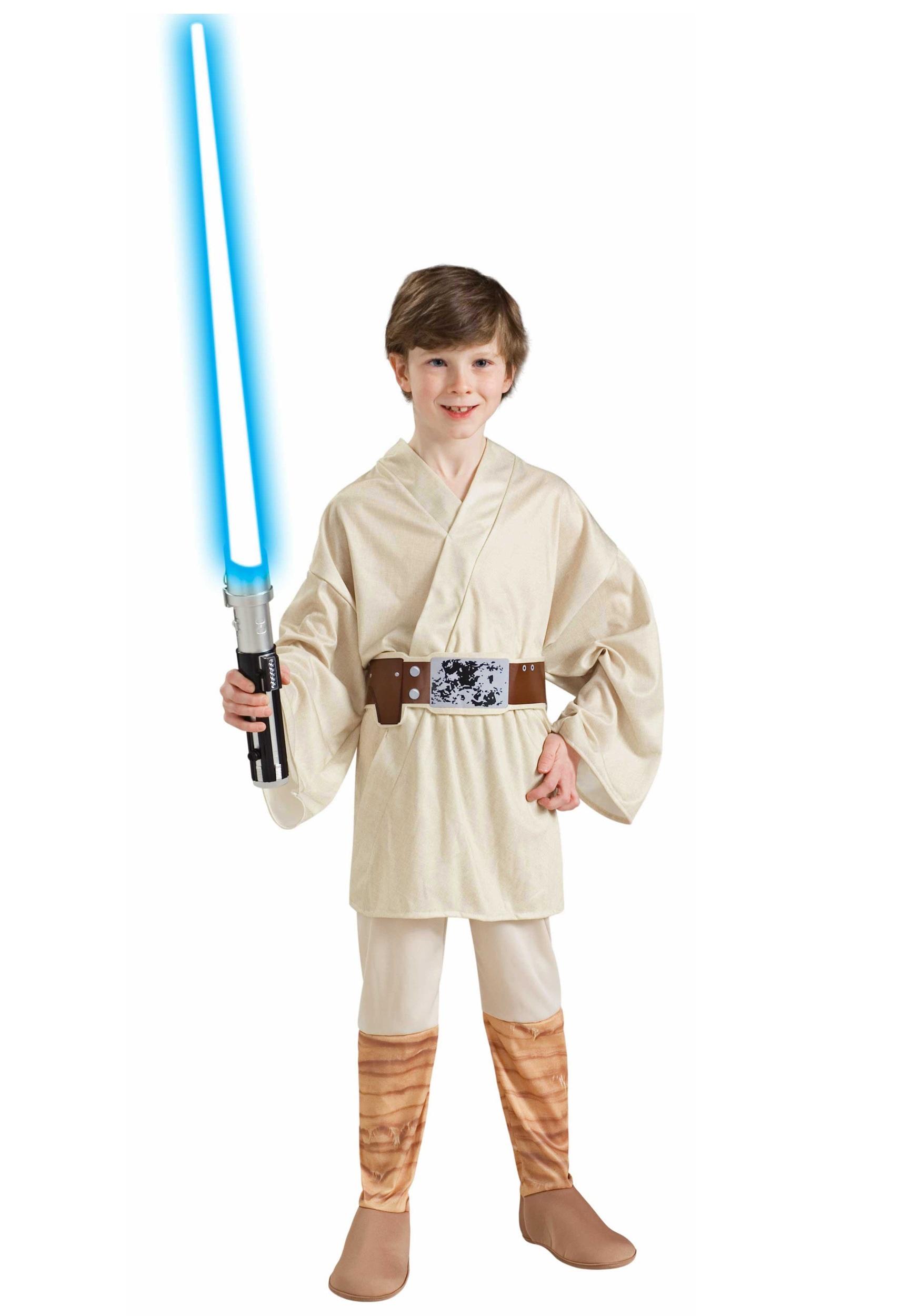 sc 1 st  Fun.com & Kids Luke Skywalker Jedi Costume