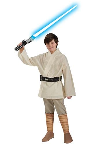 Luke Skywalker Deluxe Boys Costume