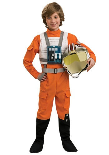 Child Star Wars Rebel Pilot Costume RU883164