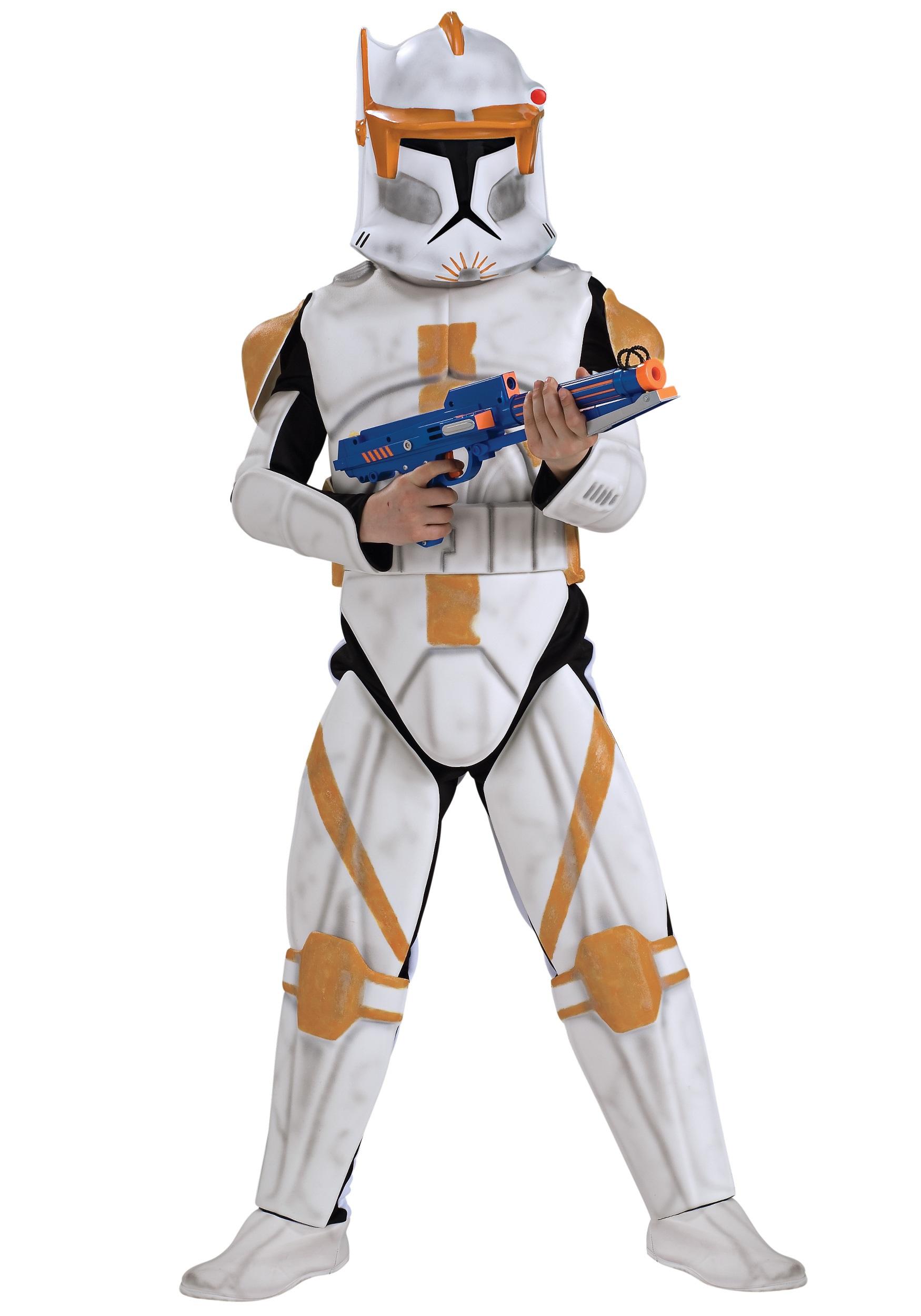 Kids Ultimate Commander Cody Costume RU883207