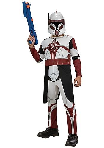 Kids Star Wars Commander Fox Costume