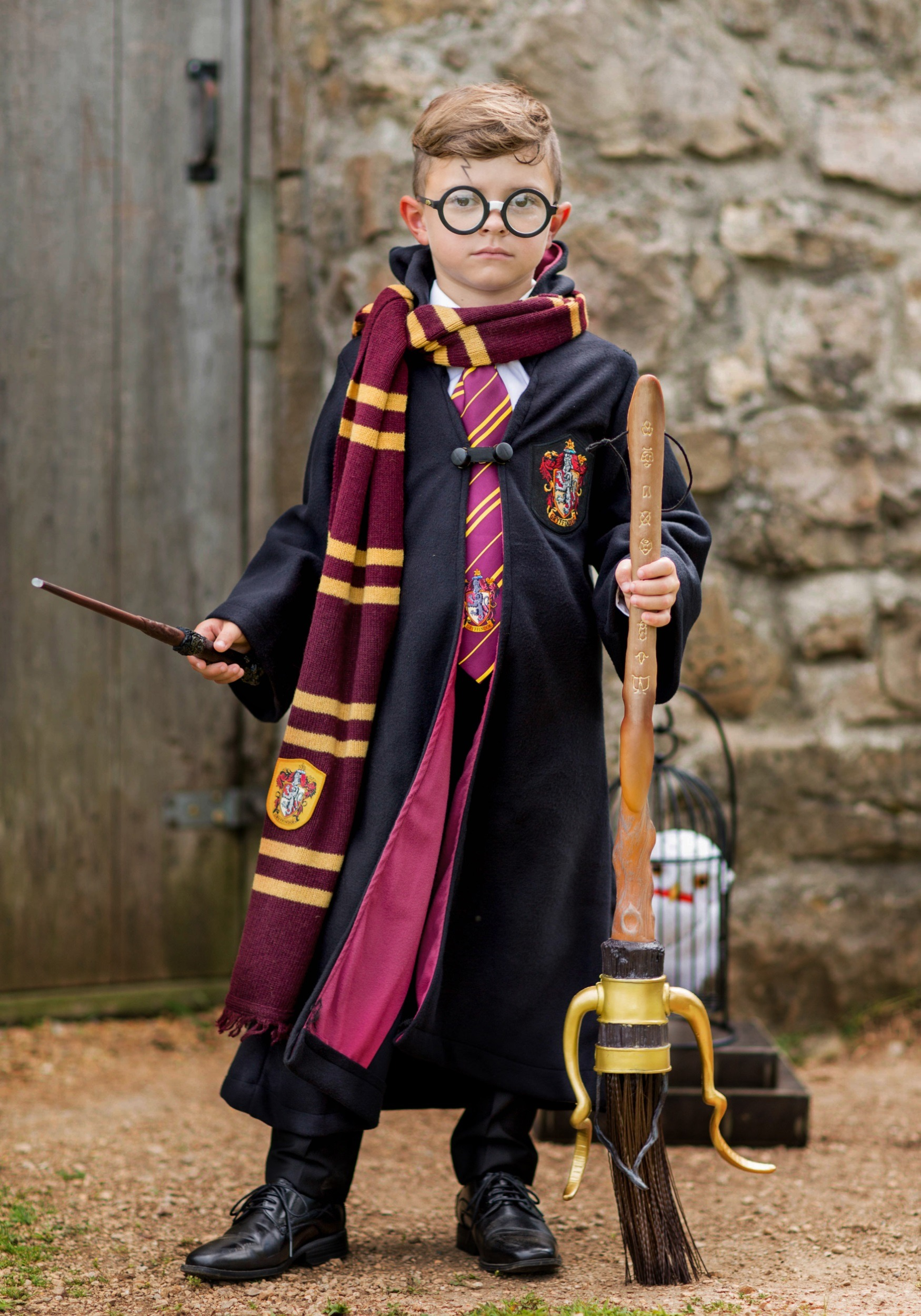 & Child Deluxe Harry Potter Costume