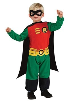 Robin Superhero Toddler Costume 1
