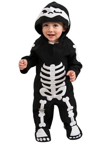 Skeleton Costume for Infants Toddlers