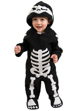 Skeleton Costume for Infants Toddlers