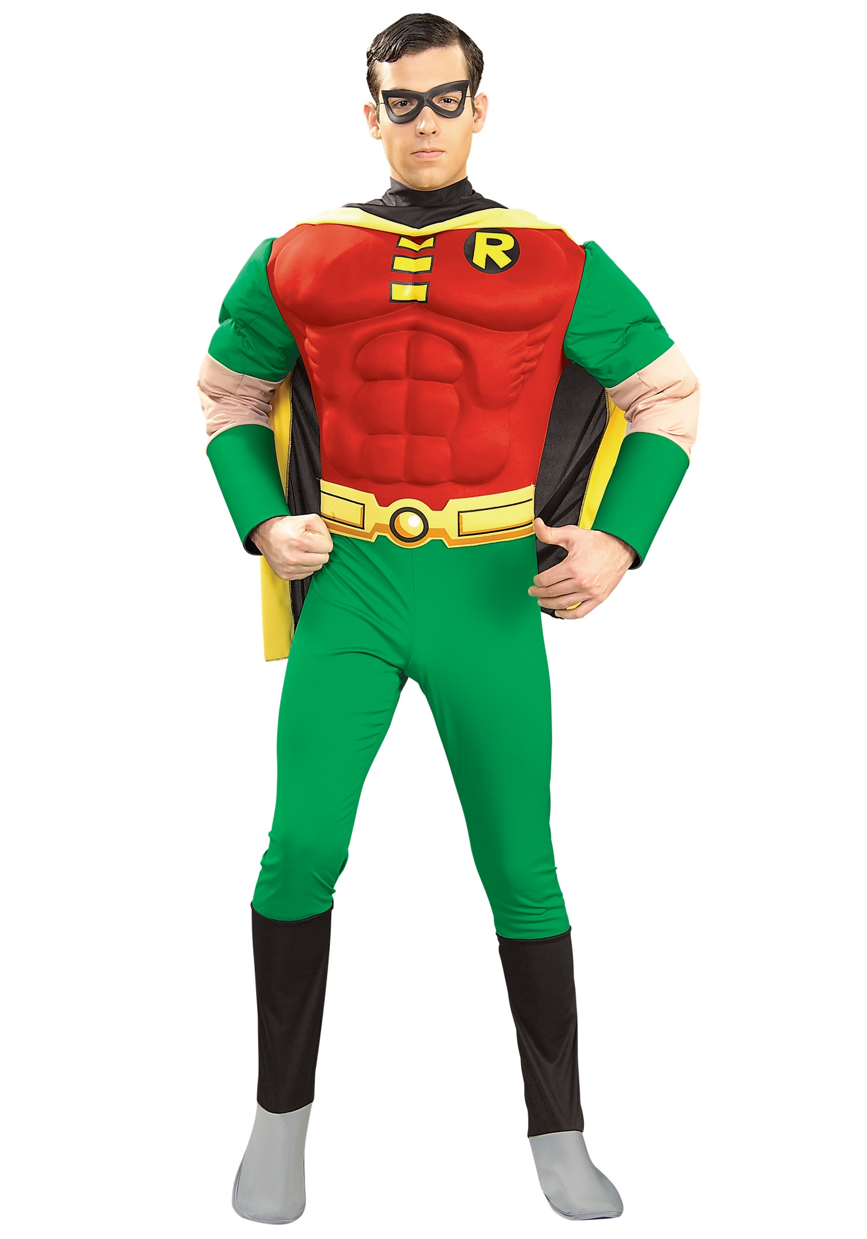 sc 1 st  Fun.com & Adult Teen Titans Robin Costume