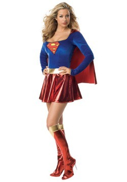 Women's Supergirl Costume