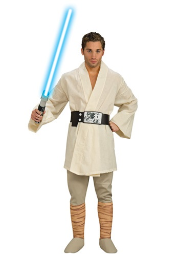 Mens Luke Skywalker Deluxe Costume