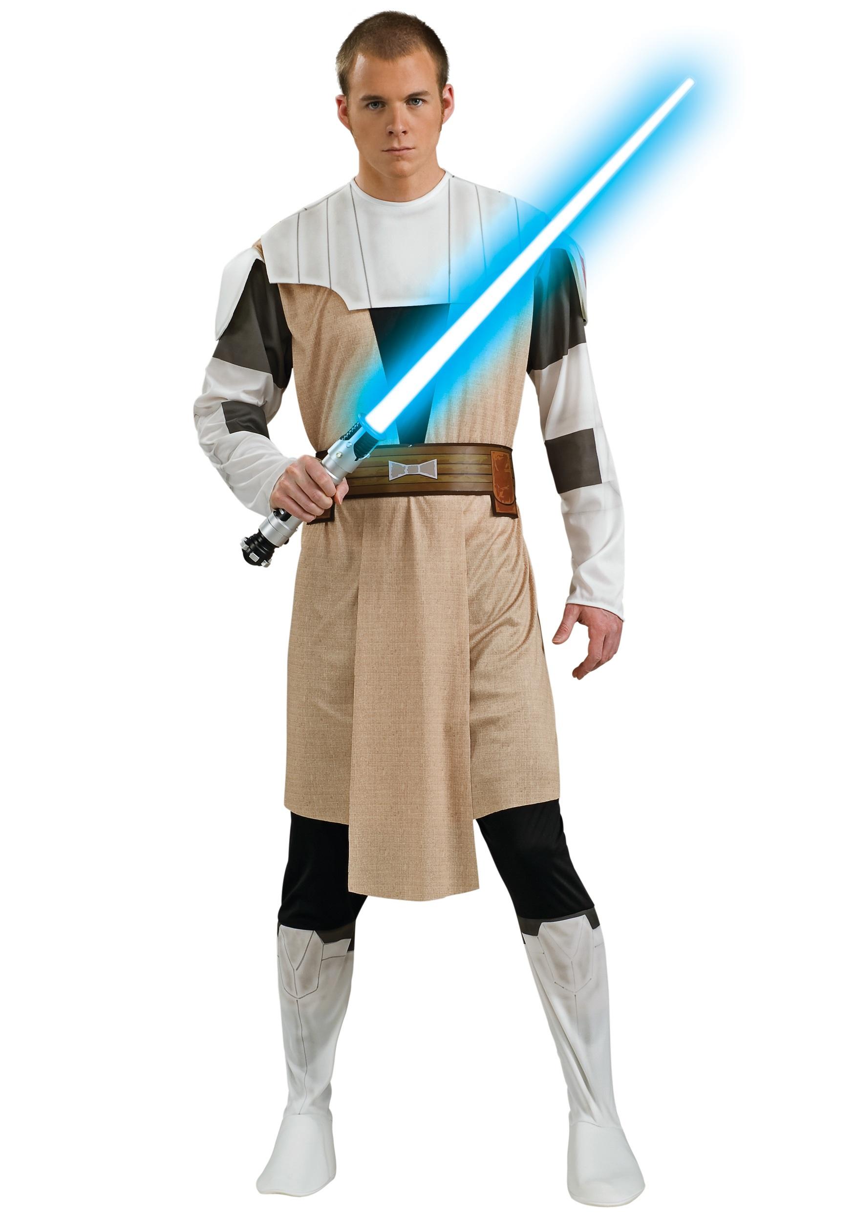 Obi Wan Kenobi Adult Clone Wars Costume RU888796
