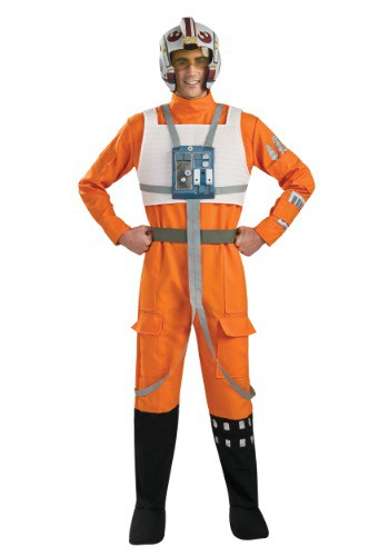 Adult X-Wing Rebel Pilot Costume