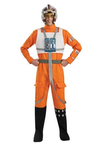 X-Wing Rebel Pilot Men's Costume RU888860