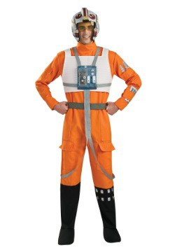 Adult X-Wing Rebel Pilot Costume