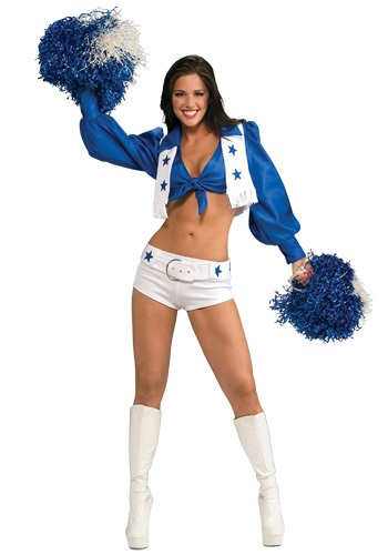Dallas Cowboys Cheerleader Womens Costume