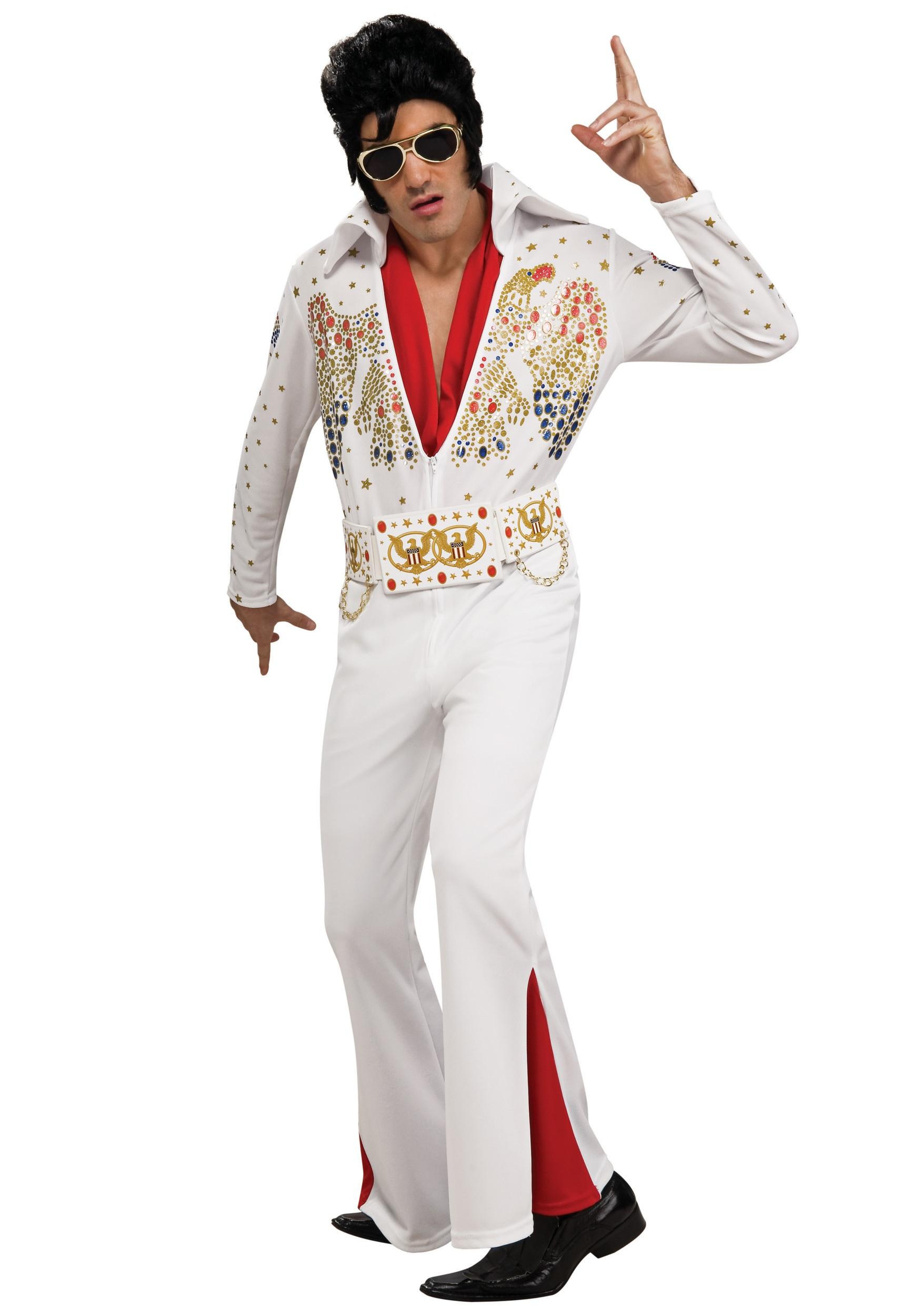 Adult Deluxe Elvis Costume