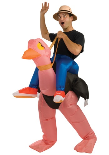 Inflatable Ostrich Adult Costume