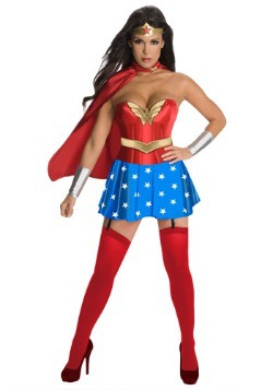Wonder Woman Sexy Corset Costume
