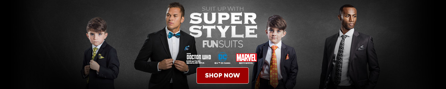 Suit up with super style
