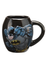 Batman Oval Ceramic Mug